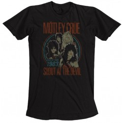 Motley Crue: Vintage World Tour Devil (tricou)