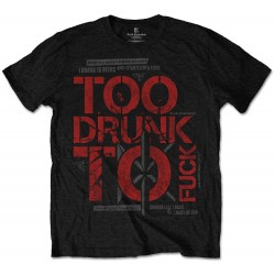 Tricou Dead Kennedys: Too Drunk