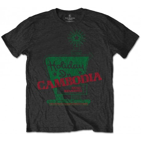 Tricou Dead Kennedys: Holiday In Cambodia