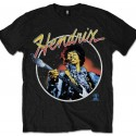 Tricou Jimi Hendrix: Script Circle