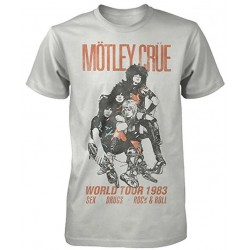 Motley Crue: World Tour Vintage (tricou)