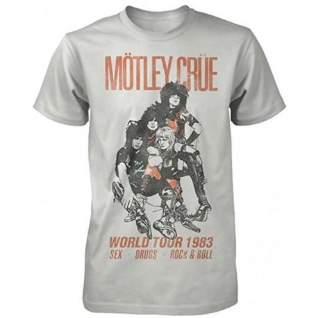 Tricou Motley Crue: World Tour Vintage