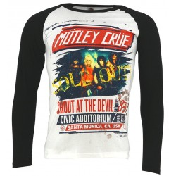 Tricou maneca lunga Motley Crue: Shout at the Devil Tour Poster