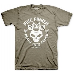 Tricou Five Finger Death Punch: Knucklehead