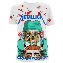 Tricou Metallica: Crash Course In Brain Surgery
