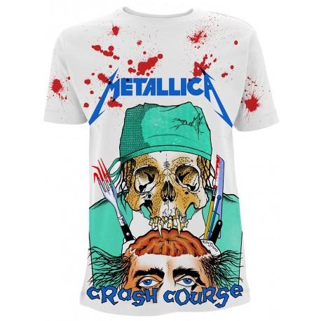 Tricou Metallica: Crash Course In Brain Surgery