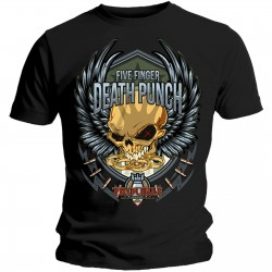 Tricou Five Finger Death Punch: Trouble