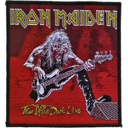 Patch Iron Maiden: Fear Of The Dark Live