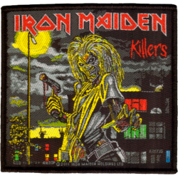 Patch Iron Maiden: Killers