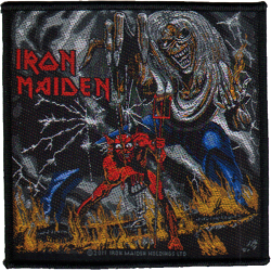 Patch Iron Maiden: Number Of The Beast