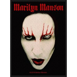 Patch Marilyn Manson: Face