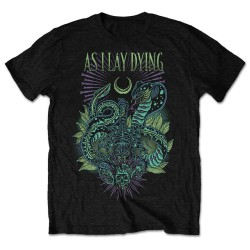 Tricou As I Lay Dying: Cobra