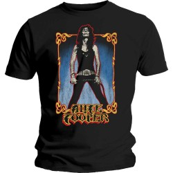 Tricou Alice Cooper: Vintage Whip Washed