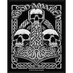 Patch Amon Amarth: Three Skulls