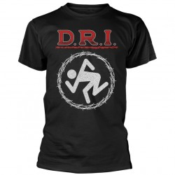 Tricou D.R.I.: Barbed Wire