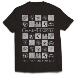 Tricou Game Of Thrones: You Win Or You Die