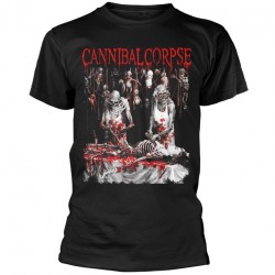 Tricou Cannibal Corpse: Butchered At Birth Explicit