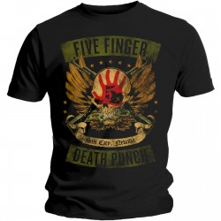 Tricou Five Finger Death Punch: Locked & Loaded