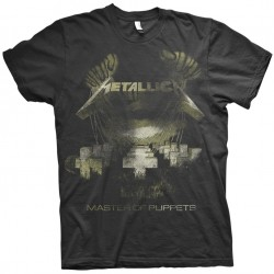 Tricou Metallica: Master Of Puppets Distressed