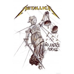 Poster Textil Metallica: ...And Justice For All