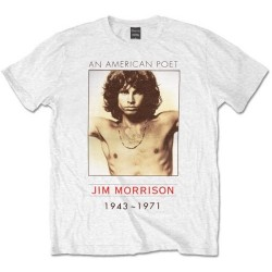 Tricou The Doors: An American Poet - Jim Morrison