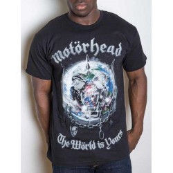 Tricou Motorhead: The World Is Yours Album