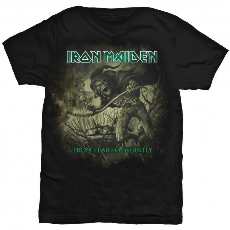 Tricou Iron Maiden: From Fear To Eternity Distressed