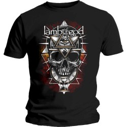 Tricou Unisex Lamb Of God: All Seeing Red