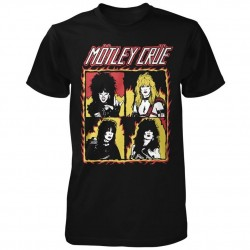 Tricou Motley Crue: Shout At The Devil Flames
