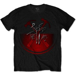 Tricou Unisex Pink Floyd: The Wall Oversized Hammers
