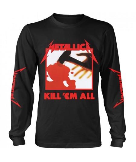 Tricou Maneca Lunga Metallica: Kill 'Em All