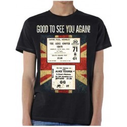 Tricou Alice Cooper: UK Only Event Nov 2017