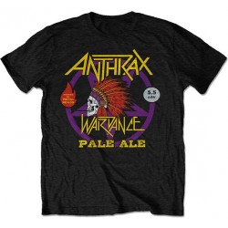Tricou Anthrax: War Dance Pale Ale World Tour