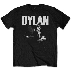 Tricou Unisex Bob Dylan: At Piano