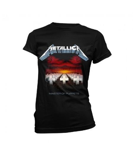 Tricou Dama Metallica: Master Of Puppets Tracks