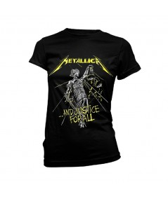 Tricou Dama Metallica: And Justice For All Tracks