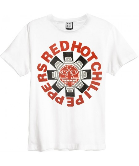 Tricou Unisex Red Hot Chili Peppers: Aztec