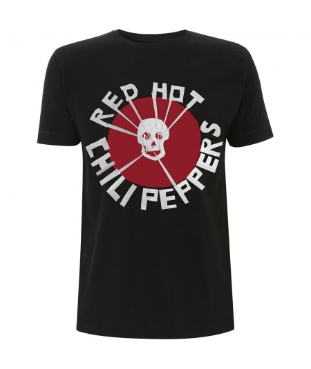 Tricou Unisex Red Hot Chili Peppers: Flea Skull